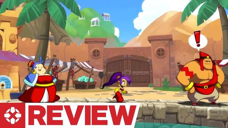 Shantae: Half-Genie Hero Review - http://gamesitereviews.com/shantae-half-genie-hero-review/
