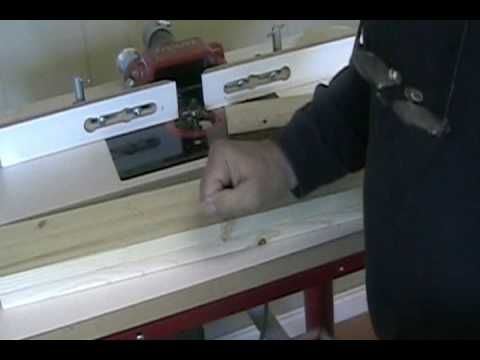 Woodworking - Making Shaker Doors Using a Router Table