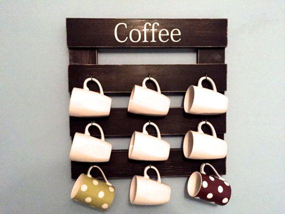 Hey, I found this really awesome Etsy listing at https://www.etsy.com/listing/249683341/coffee-mug-rack-rustic-mug-rack-coffee