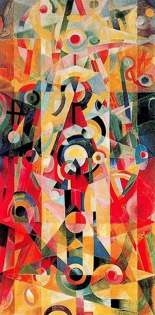 Itten, Johannes (1888-1967) - 1919 Ascension and Pause (Kunsthaus Zurich, Switzerland):
