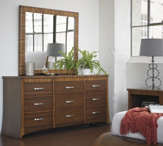 Murano Dresser $1,299 And Murano Dresser With Mirror $1,499 From Milan  Collection