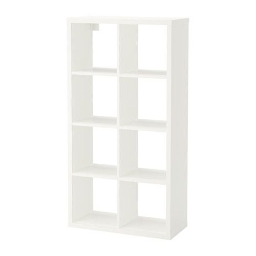 IKEA FLYSTA Shelving unit White 69x132 cm Choose whether you want to place it vertically or horizontally and use it as a shelf or bench.