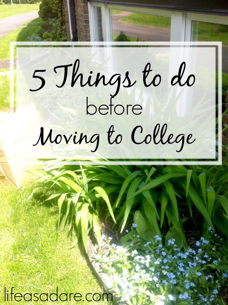 Leaving home to move to college can be a scary time. To make sure that your transition is as smooth as possible here are some things that every student should do before leaving home! Read the rest at lifeasadare.com