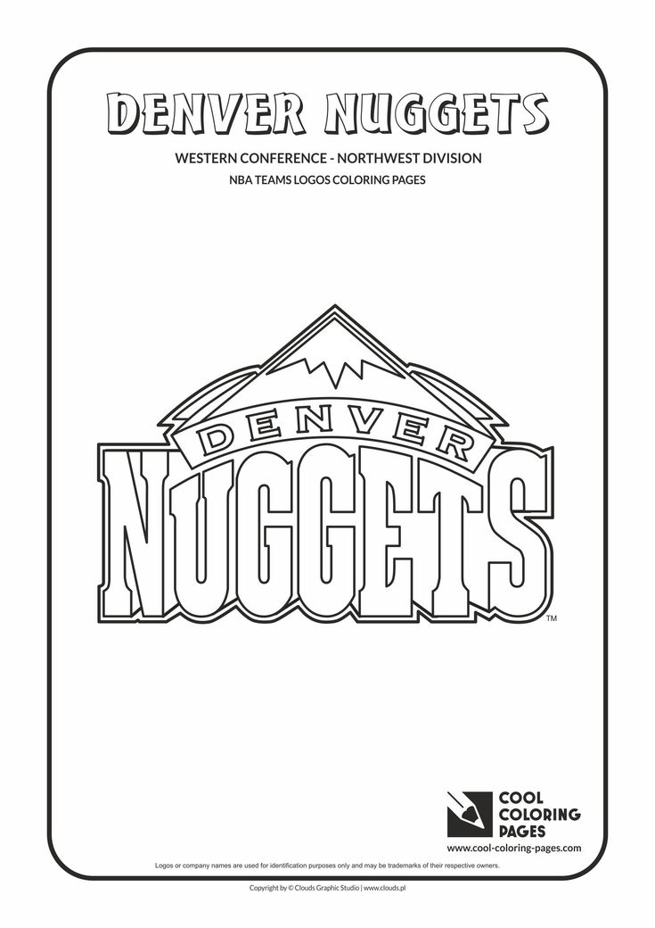 32 Best Images About NBA Teams Logos Coloring Pages On Pinterest