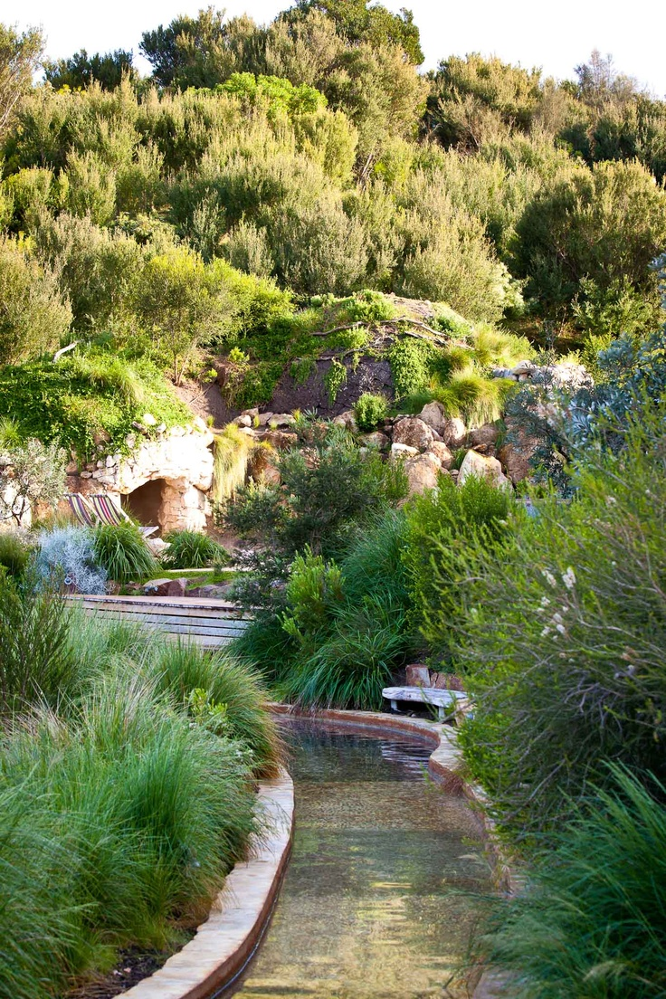 The amazing reflexology walk at the hot springs. The kids will love it! http://lovethepen.com.au/profiles/peninsula-hot-springs/
