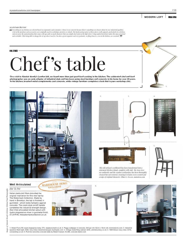 Page 35 | Warehouse Home Issue Two #ClippedOnIssuu from Warehouse home Issue Two