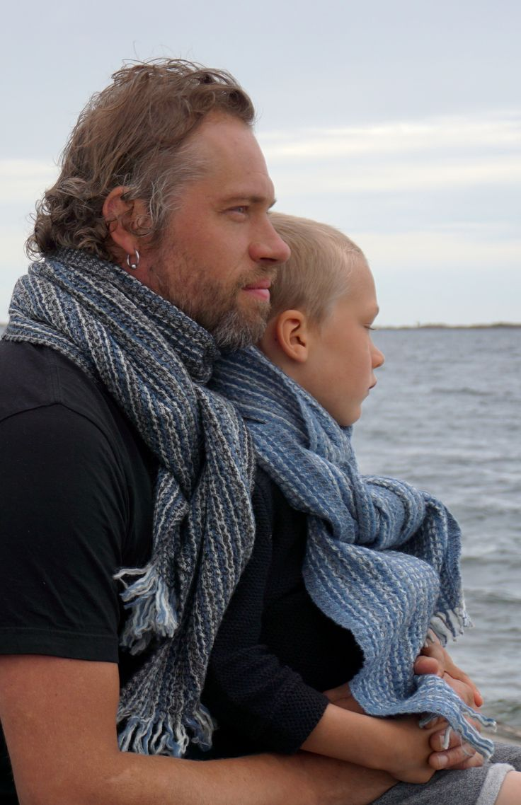 KAARNA scarf, 100% wool, made in Finland by Lapuan Kankurit