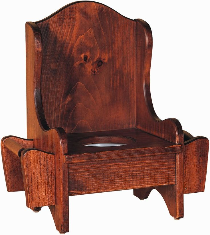 Amish Kids Pine Wood Potty Chair