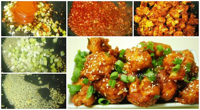 Gobi Manchurian - Cauliflower Manchurian