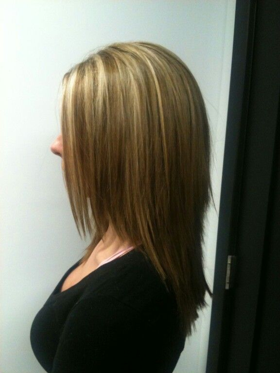 25 Best Ideas About Partial Blonde Highlights On