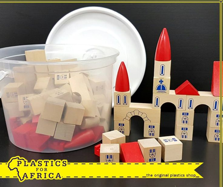 It is the start of the holiday season for kids and wholesome entertainment is hard to come by. We've got you covered at #PlasticsforAfrica with a huge range of toys, such as these wooden building blocks in a storage bucket. Visit your nearest branch today! #toys