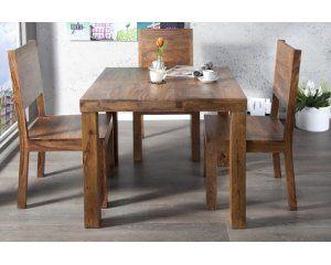 Drewniany stół 80x80 cm - 1