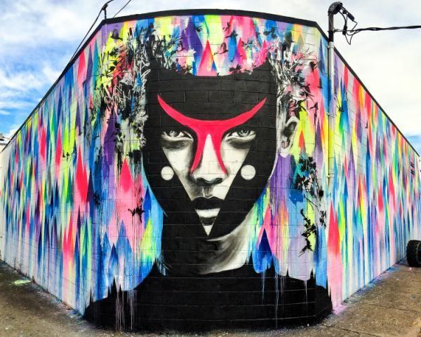 (FOTOS) Rehabilitando edificios abandonados con graffitis maravillosos - Yahoo Noticias España