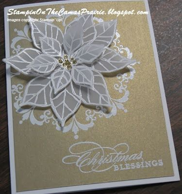Stampin' on the Prairie: Christmas Blessings Card