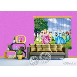 Hercegnők a szabadban gyerek függöny #függöny #lakástextil #lakberendezés #gyerekszoba #hercegnő