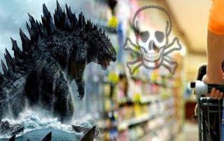 ΠΡΟΣΟΧΗ  ΚΙΝΔΥΝΟΣ: Ο Γκοτζίλα στα πιάτα μας  Η ΕΕ επιτρέπει την εισαγωγή τροφίμων από την περιοχή της Φουκουσίμα! [video]