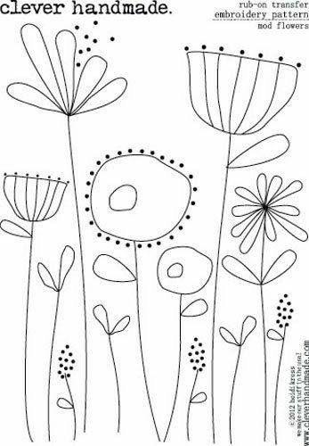 Molde flores