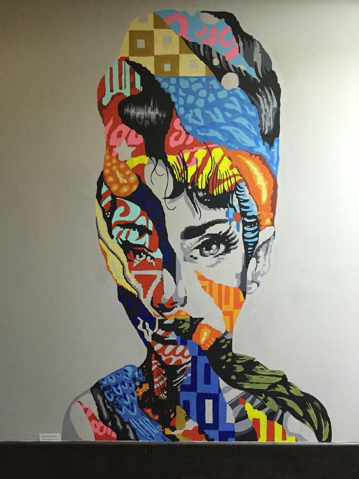 Acrylic on wall