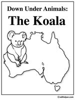 Australia Theme Unit - Printables and Worksheets