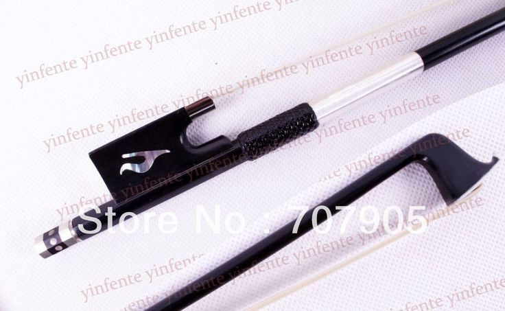 59.00$  Buy now - http://aliedc.shopchina.info/go.php?t=789362567 - New 4/4 Violin Bow Black Carbon Fiber Silver Color Bow string 59.00$ #bestbuy