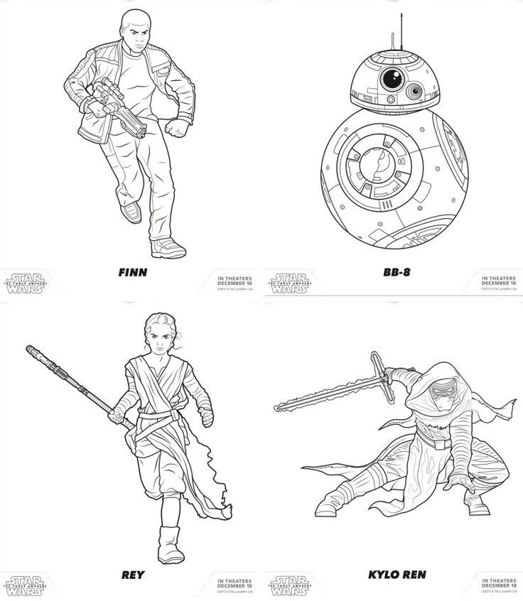 Coloring Pages Kylo Ren : Images about colouring pages on pinterest coloring