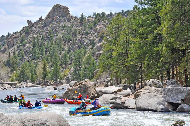 Discover adventure in Buena Vista and Salida, Colorado, home to hot springs, 14,000-foot peaks, aerial adventure parks and Arkansas River rafting and fishing.