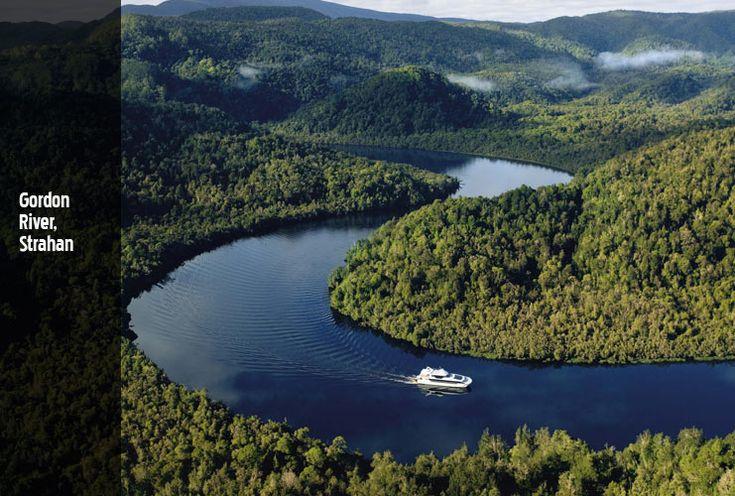 Cruise the Gordon River, Strahan, (west coast) Tasmania, Australia #yankinaustralia #australia