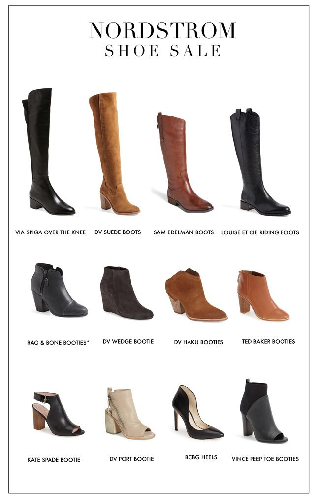 Nordstrom shoe sale #boots #booties #overthekneeboots #ankleboots #opentoe #shoes #howtowear