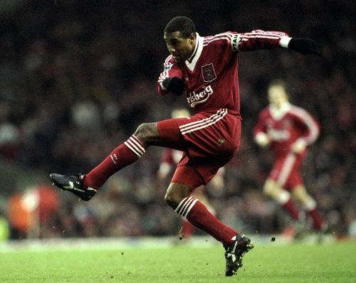 Johnny Barnes - pictures and video of the great man in action. Still love that kit. http://www.liverpoolecho.co.uk/liverpool-news/in-the-mix/2012/10/16/former-liverpool-fc-star-john-barnes-discovers-family-roots-on-who-do-you-think-you-are-100252-32038343/