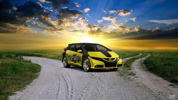Checkout my tuning #Honda #Civic 2012 at 3DTuning #3dtuning #tuning