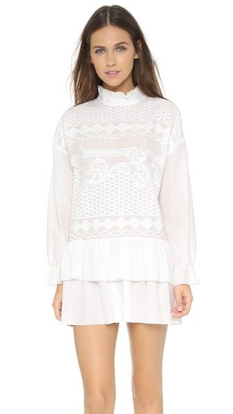 ENGLISH FACTORY Art Lace Dress