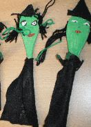 Heksje van pollepel - Halloween knutselen - peuter kleuter