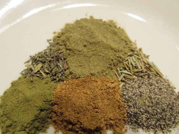 I wanted to make Recipe #66941 and did not know what Bells seasoning was. I could not find anything on Zaar, so I googled. I found this on www.bakespace.com and as it is so simple I thought I would post for those of us who live on the other side of the world! I believe this is very good in poultry stuffings according to Martha Stewart..