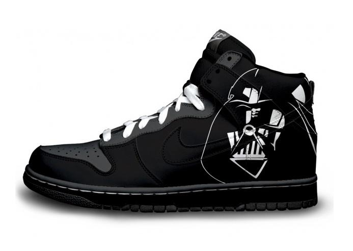 9827139442d Darth Vader sneakers