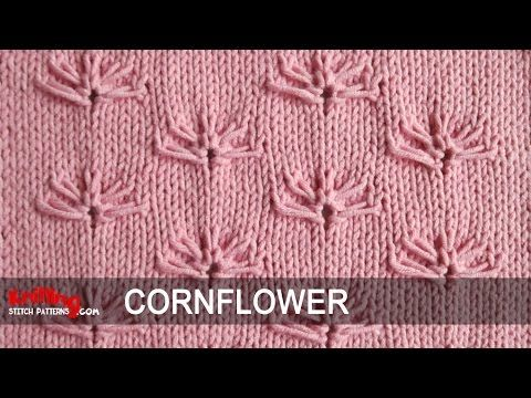 Cornflowers | Knitting Stitch Patterns