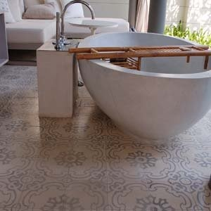 Sala vårt framtida badrumsgolv?