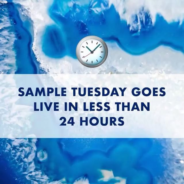 PINCHers, mark your calendars... Sample Tuesday is almost here! Don't forget to update your member profile for a better chance to claim samples!