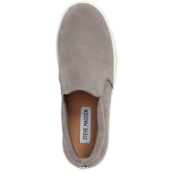 b2e7ca8189f Women s Steve Madden Gills Platform Slip-On Sneaker ( 80) ❤ liked on  Polyvore