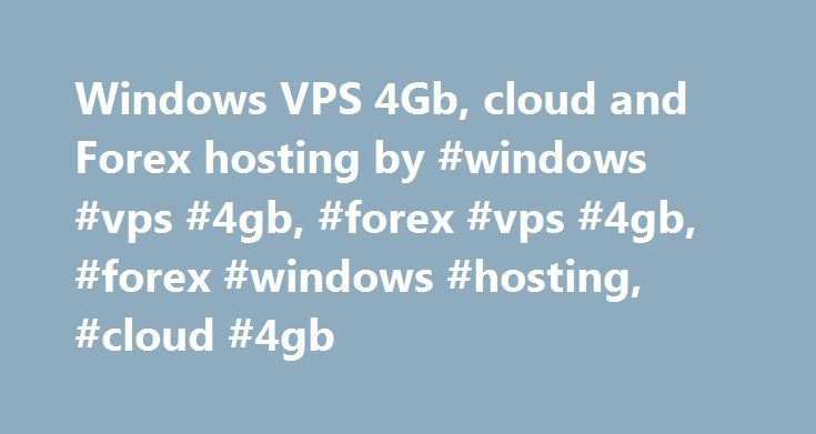 Forex vps cloud
