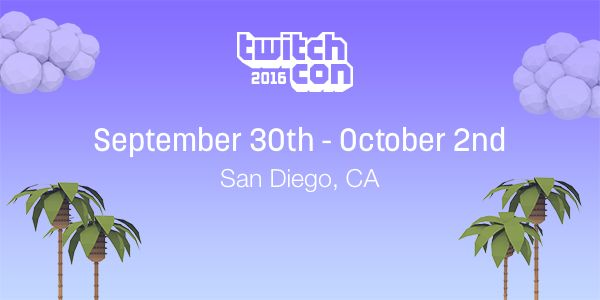 Today we're excited to announce the dates and location for TwitchCon 2016, the premier celebration of the culture and community of Twitch's…