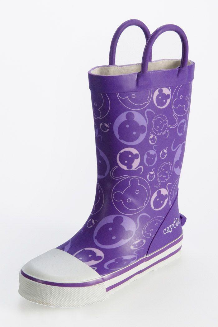 #Kalosze dla dzieci Purple, #Cayole