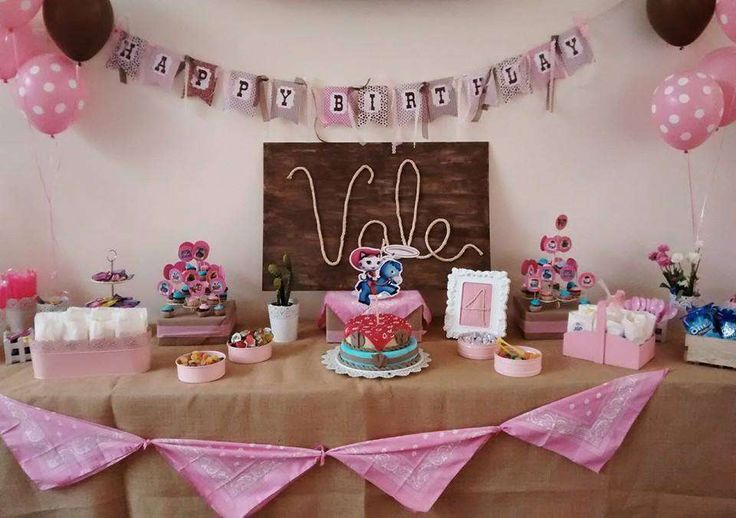 Sheriff Callie Birthday Party Ideas | Photo 10 of 20 | Catch My Party