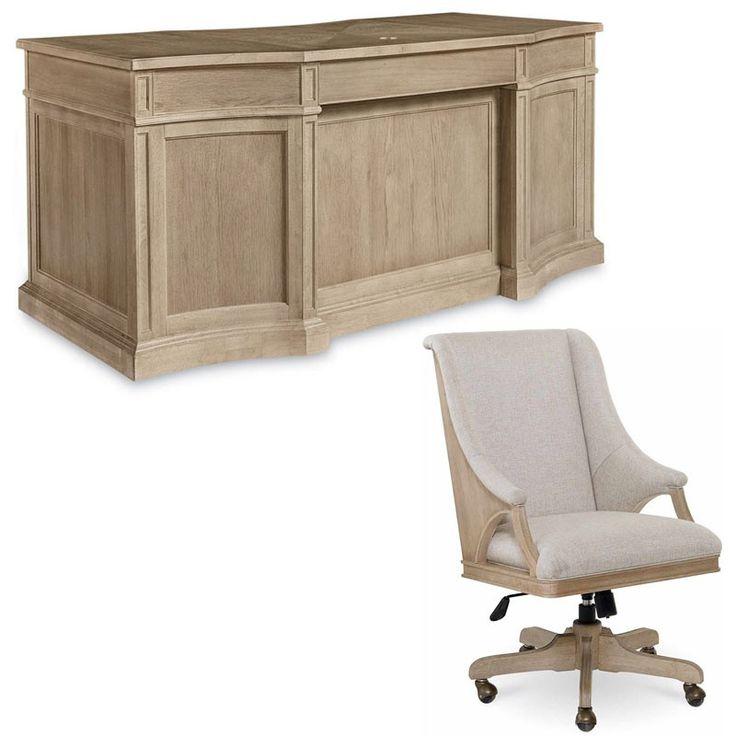 ART Furniture - Roseline 2 Piece Nora Executive Desk Set - 248831-2302-2SET