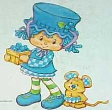She was my favorite from strawberry shortcake when I was young. Blueberry muffin and Cheesecake