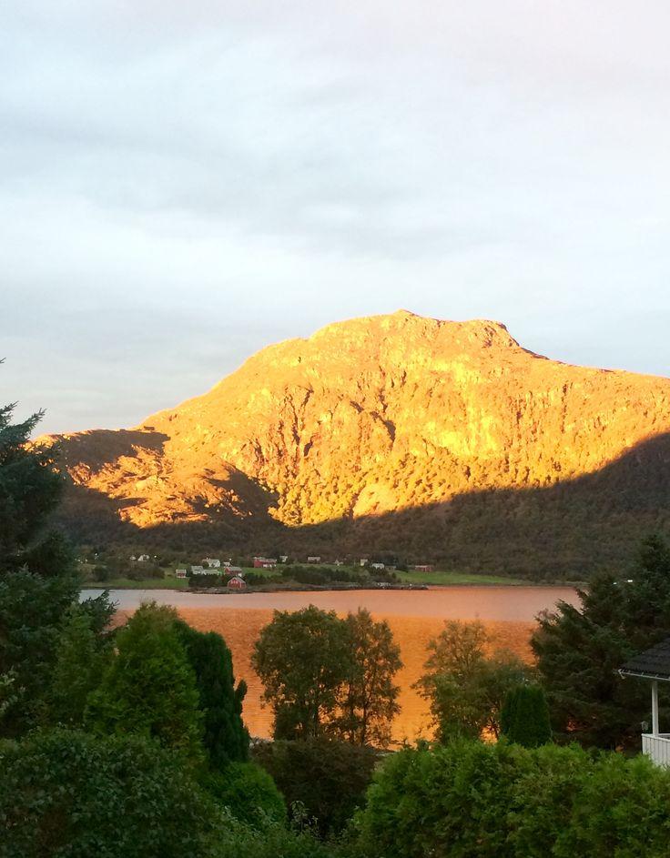 Утро в Норвегии 😍☀️👏🥀