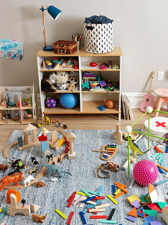 Great ideas for taming toys! Turn a closet or cabinet into a