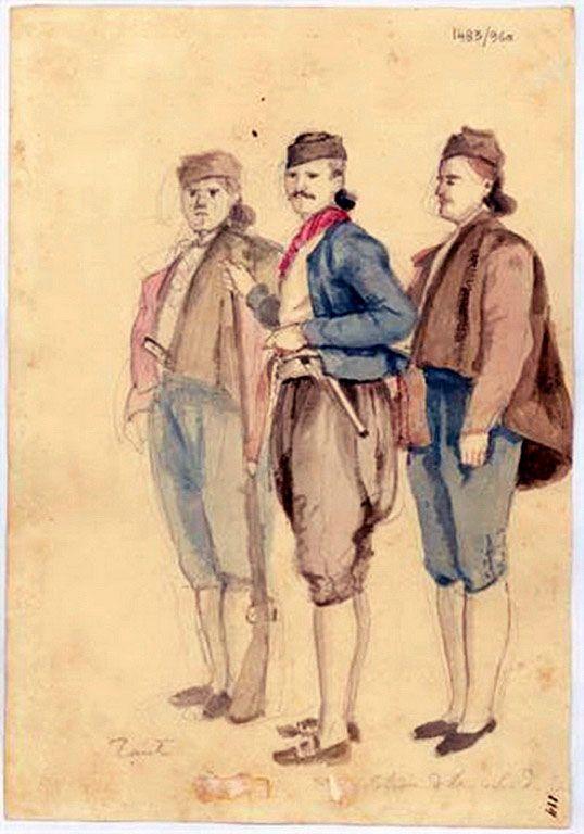 Πιτζαμάνος Γεράσιμος-Τρεις πολίτες από την πόλη της Ζακύνθου, 1818-20