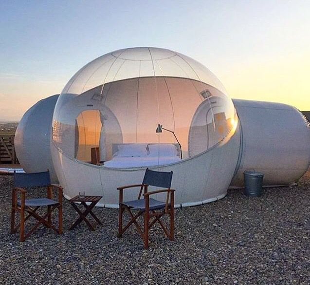 Aire De Bardenas bubble room @ Tudela, Navarra, Spain