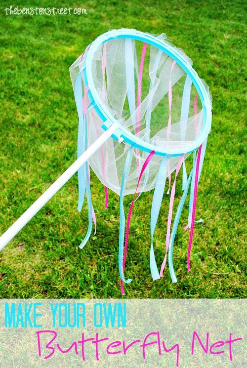 DIY Butterfly Net