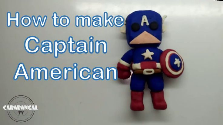 CAPTAIN AMERICA HOW TO MAKE CAPTAIN AMERICA / KAPTEN AMERIKA CARA MEMBUA...